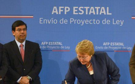 Comité de Ministros evalúa indicaciones al proyecto de AFP estatal