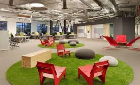 Productividad en oficinas: áreas comunes y espacios de encuentro