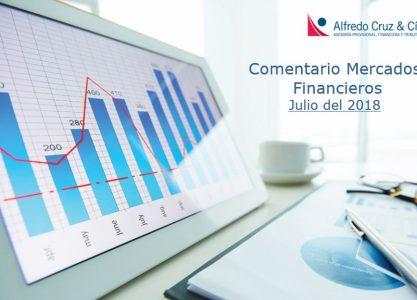 Comentario Mercados Financieros Julio del 2018